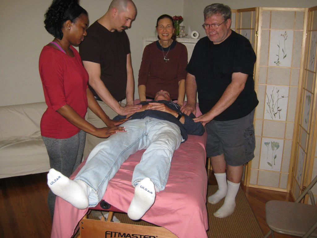 monthly healing circle after Reiki class